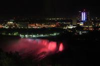 Niagara Waterfall in night