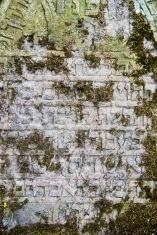 Gravestone Jewish writing on tombstone