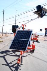 Solar Energy Street Sign