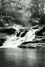 waterfall (black 'n white)