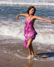 Dancing on the beach of Goa