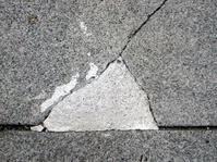 close up of concrete sidewalk