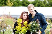 Garden centre visit