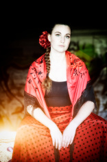Tired Flamenco Dancer