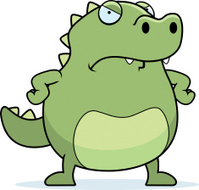 Angry Lizard