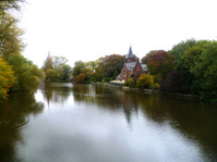 Belgium Brudge in fall