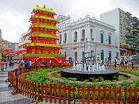 Senado Square, Historic Center of Macau, China
