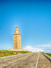 Hercules Tower in Coruna