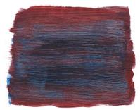 Brown with blue streaks watercolor