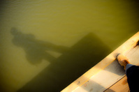shadows of photographer