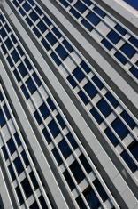 Facade of skyscraper