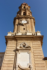 Cathedral of La Seo, in the famous Plaza del Pilar