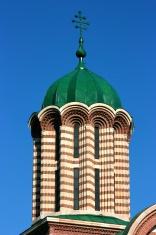 Byzantine style church spire