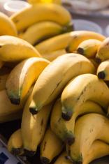 Banana on market