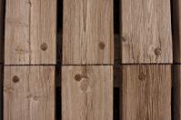 Background of wooden beam platform