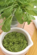 Arugula pesto freshly made