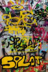 Graffiti in Sofia Bulgaria