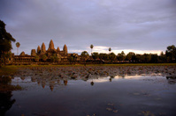 Cloudy Angkor Wat