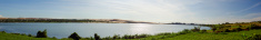White Sand Dunes Panorama.