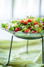 Salad at a party