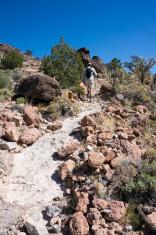 Hiking in Mojave