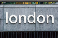 Sign for London.