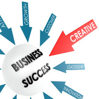 Arrow creative to business success