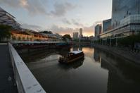 Singapore River Morning Atmosphere