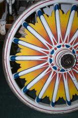 Circus Wagon Wheel