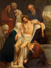 Antwerp - burial of Jesus in Saint Willibrordus church