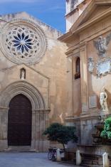 Saturn fountain in Trapani, Sicily - Italy