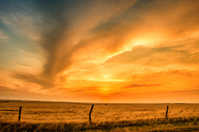 Golden Kansas Sunset