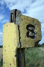 Railway Mile Marker