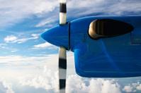 View through seaplane window