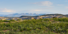 Flat Top Mountains in Spring