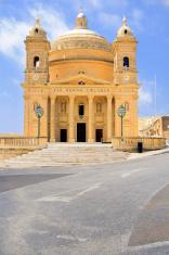 Malta, church in Haz-Zebbug