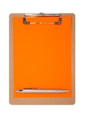 Clipboard - Plain orange