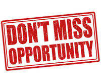 Don t miss opportunity stamp