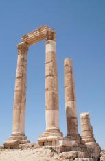 Citadel in Amman