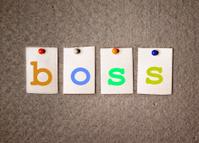 boss note on pin board
