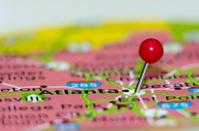 atlanta city pin on the map