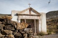 Church in graveyard