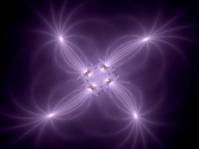 Glowing purple fantasy