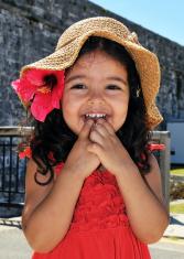 Smiling Island Girl