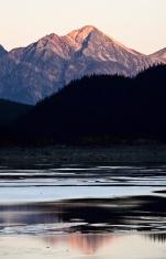 Rocky Mountains in autumn