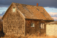 Old abandoned Saskatchewan farm house