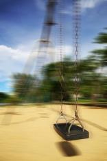 Moving swings