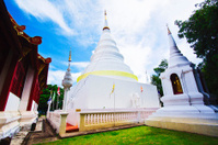 Thailand, Chiang Mai, Phra Thart doi suthep temple