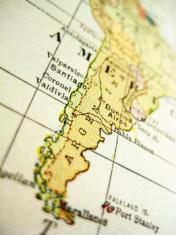 Antique Map Argentina