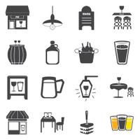 Pub icons set